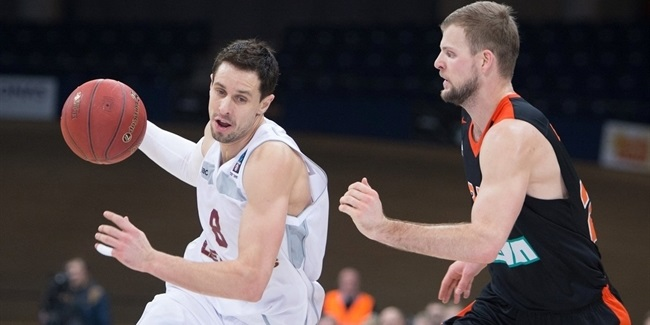 Top 16, Round 2 report: Lietkabelis rallies late to edge Ulm