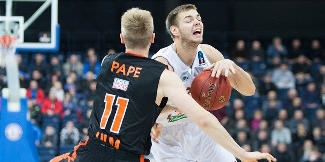 Top 16, Round 2: Lietkabelis Panevezys vs. ratiopharm Ulm