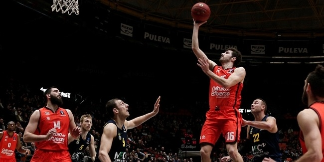 Valencia: Vives, out against Khimki