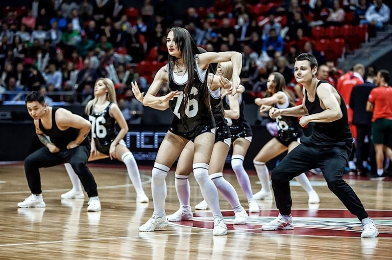 Cheerleaders - Lokomotiv Kuban Krasnodar - EC16 (photo Lokomotiv)