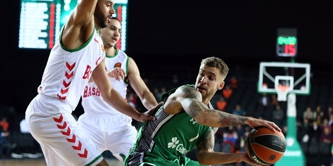 Regular Season Round 17: Darussafaka's fantastic shooting is too much for Baskonia