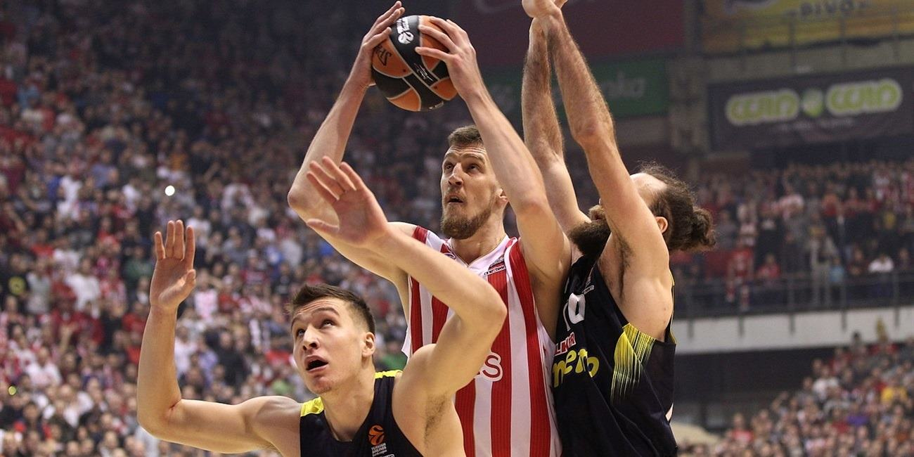 Regular Season Round 17: Zvezda sinks Fenerbahce in a thriller for fourth straight win