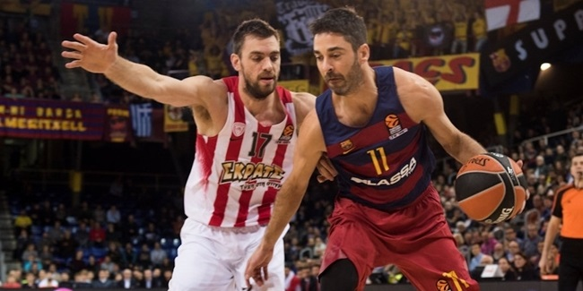 Regular Season, Round 17: FC Barcelona Lassa vs. Olympiacos Piraeus