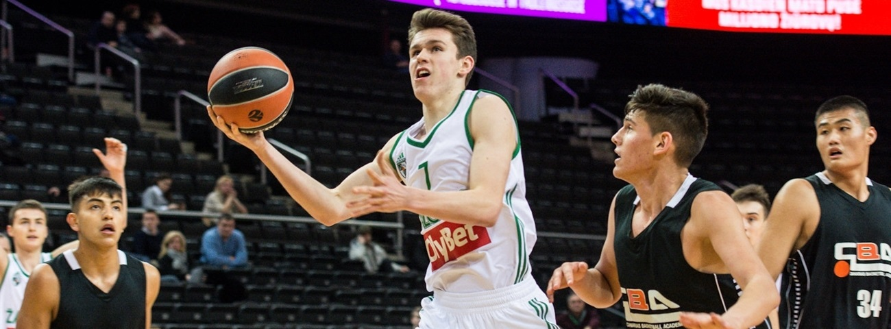 Sargiunas gets used to great results with U18 Zalgiris