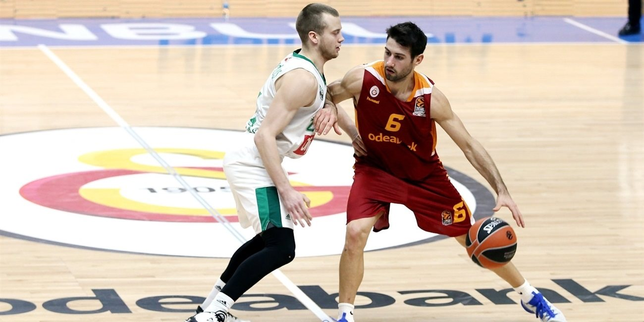 Regular Season Round 17: Galatasaray snaps losing streak with home win over Zalgiris