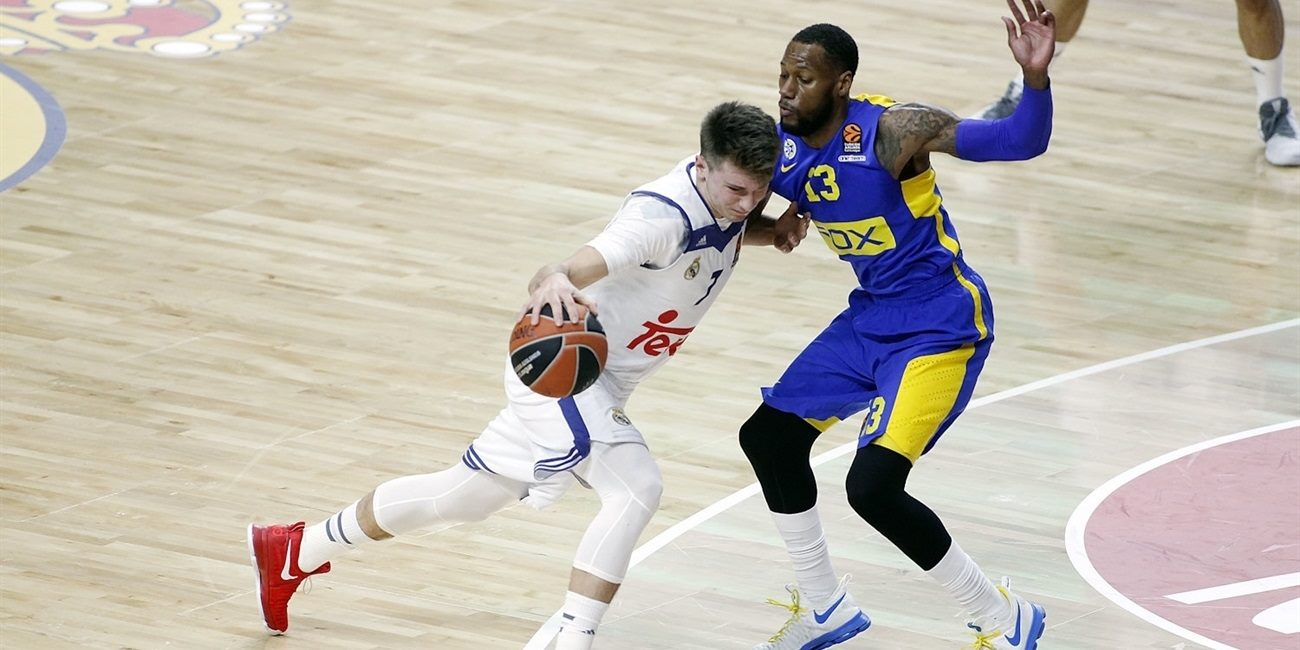 Regular Season Round 17: Doncic's near triple-double lifts Madrid over Maccabi
