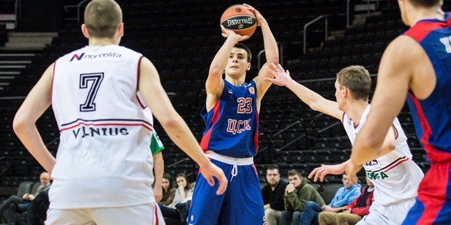 U18 CSKA's Khomenko switched swimming for basketball after meeting Shveds