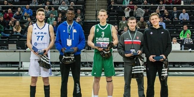 Ershov of U18 CSKA named MVP in Kaunas