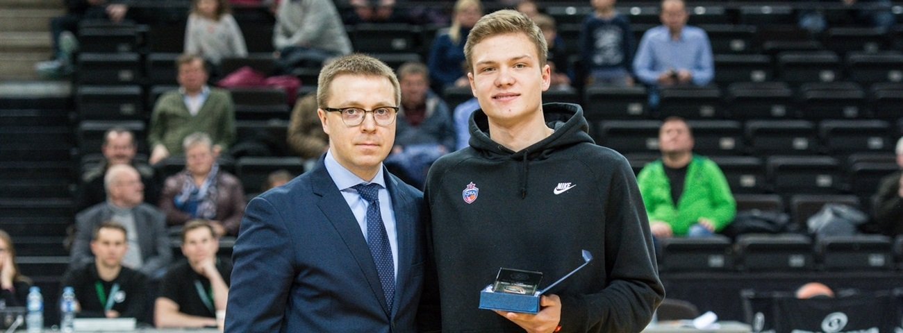 Ershov touched to be ANGT Kaunas MVP