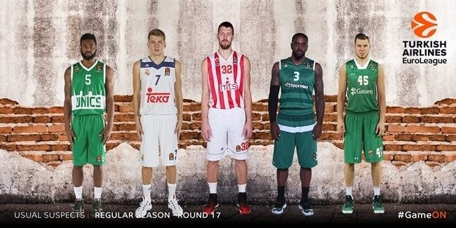 The Usual Suspects by Eurohoops.net: Regular Season Round 17