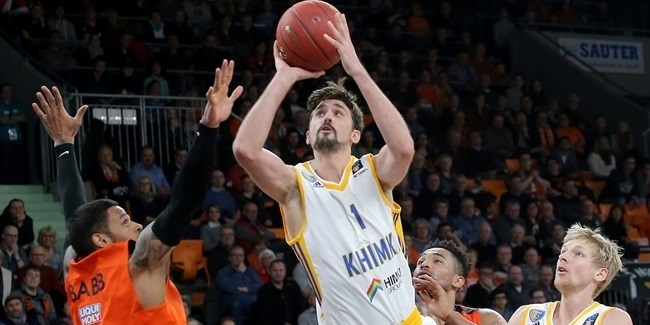 7DAYS EuroCup, Top 16 Round 4 MVP: Alexey Shved, Khimki Moscow Region