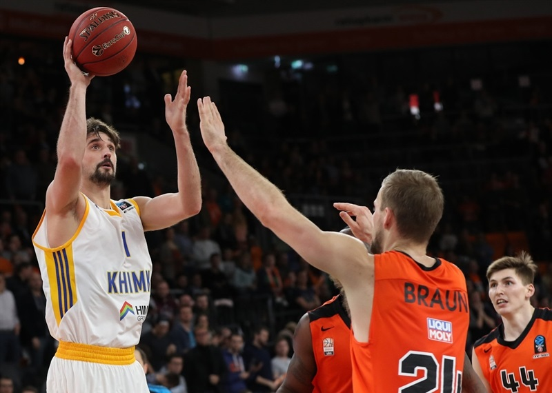 Alexey Shved - Khimki Moscow Region - EC16 (photo Florian Achberger - Ratiopharm Ulm)