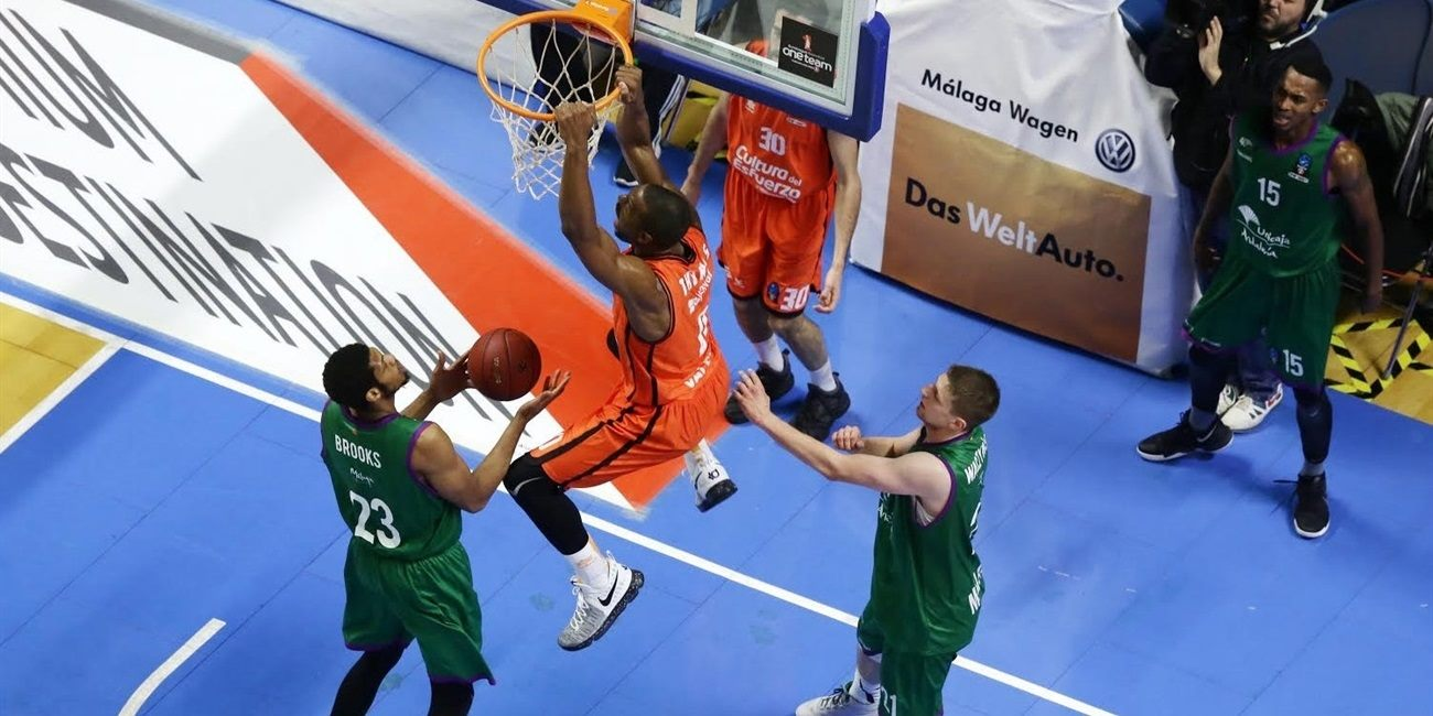 Will Thomas - Valencia Basket - EC16 (photo Unicaja - Mariano Pozo)