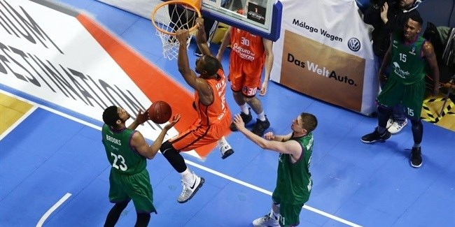 Top 16, Round 3: Unicaja Malaga vs. Valencia Basket