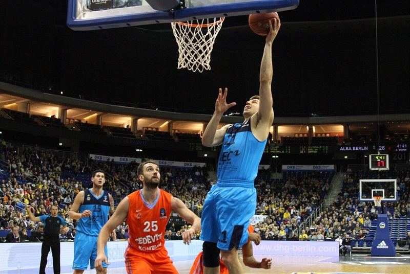 Dragan Milosavljevic - ALBA Berlin - EC16 (photo Andreas Knopf - ALBA Berlin)