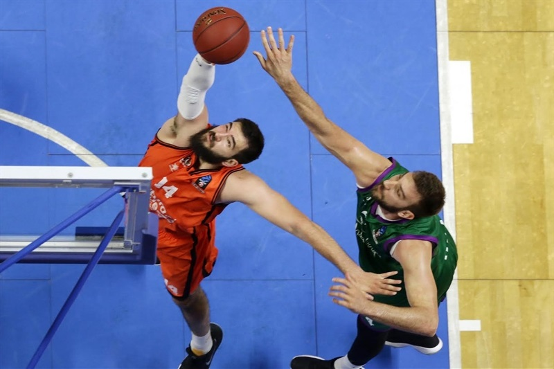 Bojan Dubljevic - Valencia Basket - EC16 (photo Unicaja - Mariano Pozo)