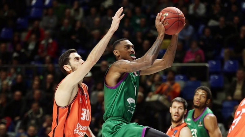 Jamar Smith - Unicaja Malaga - EC16 (photo Unicaja - Mariano Pozo)
