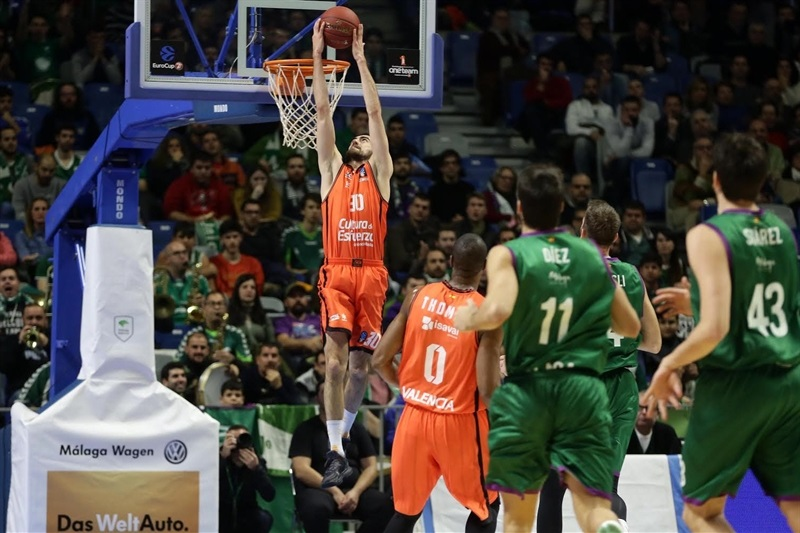 Joan Sastre - Valencia Basket - EC16 (photo Unicaja - Mariano Pozo)