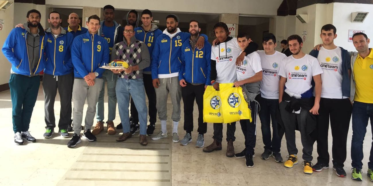 Maccabi continues One Team activities with emphasis on teamwork