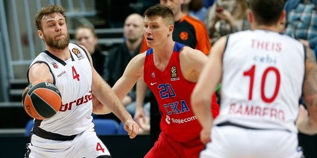 Regular Season, Round 18: CSKA Moscow vs. Brose Bamberg