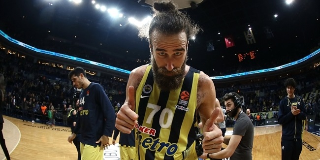 Regular Season Round 18: Datome, Vesely lead Fenerbahce past Panathinaikos