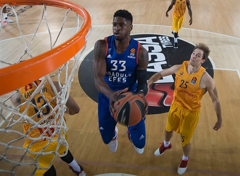 brandon paul,efes, euroleague