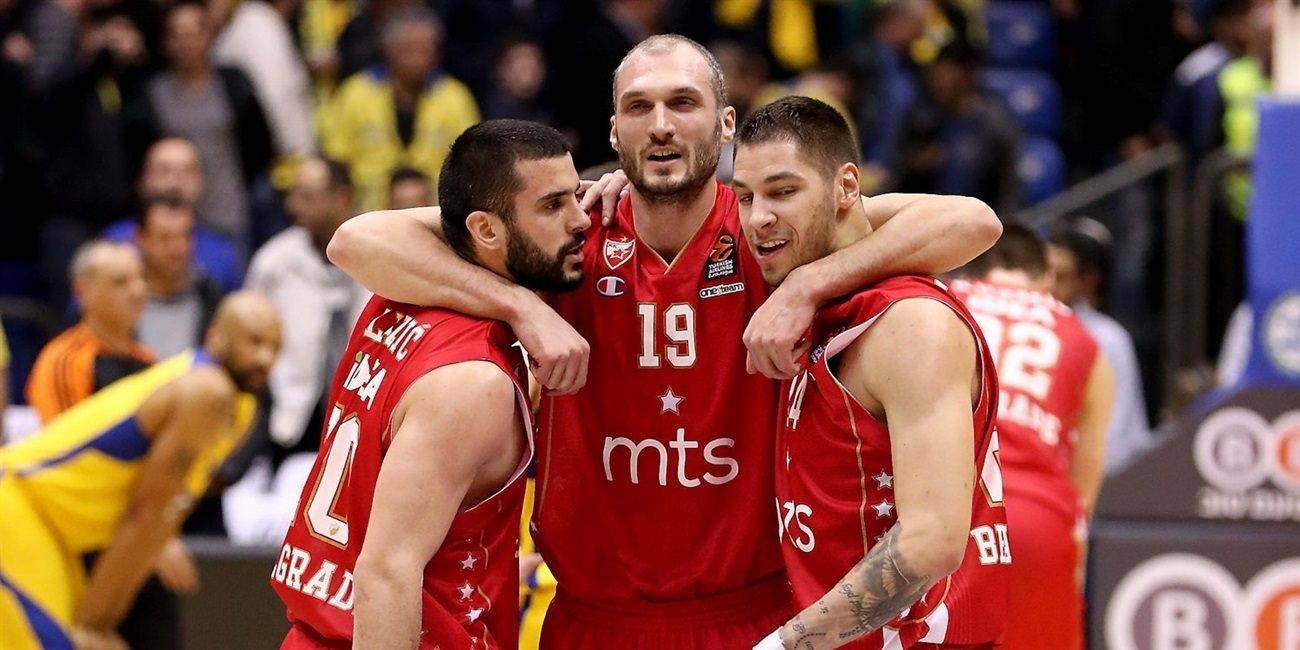 Regular Season Round 18: Jovic leads late Crvena Zvezda surge to win in Tel Aviv