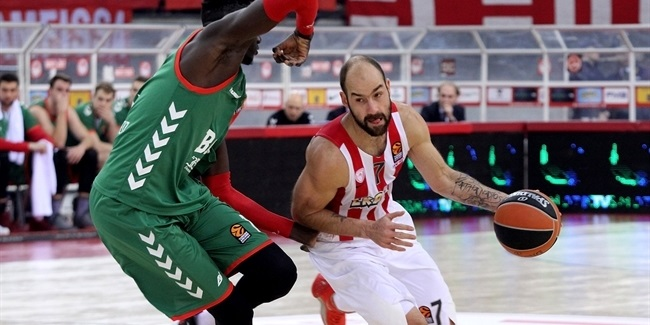 Regular Season, Round 18: Olympiacos Piraeus vs. Baskonis Vitoria Gasteiz