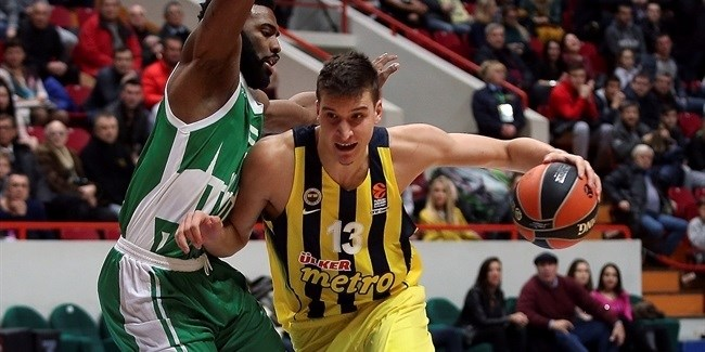 Fenerbahce holds off Unics to win in Kazan