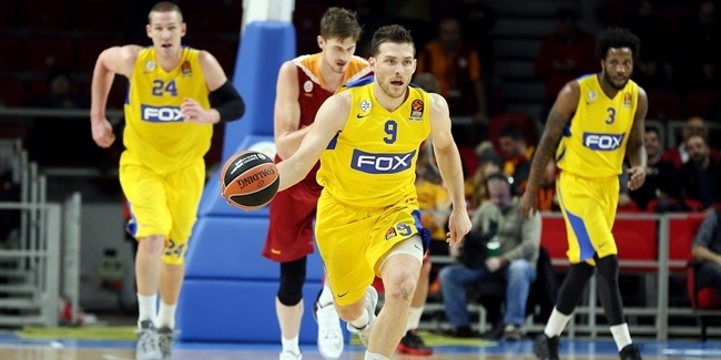 Regular Season, Round 19: Galatasaray Odeabank Istanbul vs. Maccabi FOX Tel Aviv
