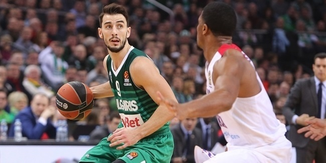 Zalgiris, Westermann together again