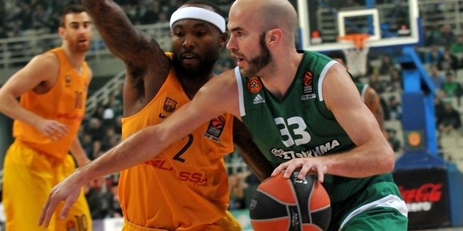 Regular Season, Round 19: Panathinaikos Superfoods Athens vs. FC Barcelona Lassa