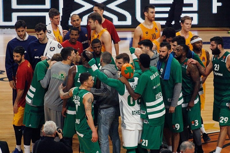 Panathinaikos Superfoods Athens celebrates - EB16