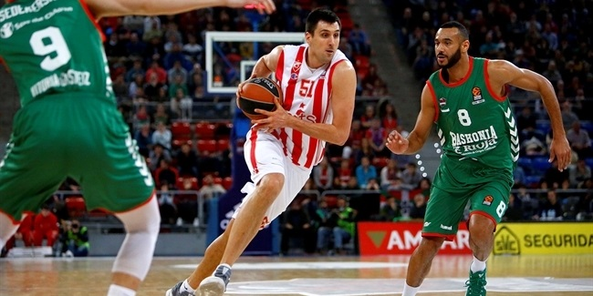 Regular Season, Round 19: Baskonia Vitoria Gasteiz vs. Crvena Zvezda mts Belgrade
