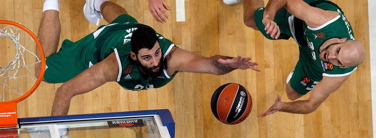 Regular Season Round 19 MVP: Ioannis Bourousis, Panathinaikos Superfoods Athens