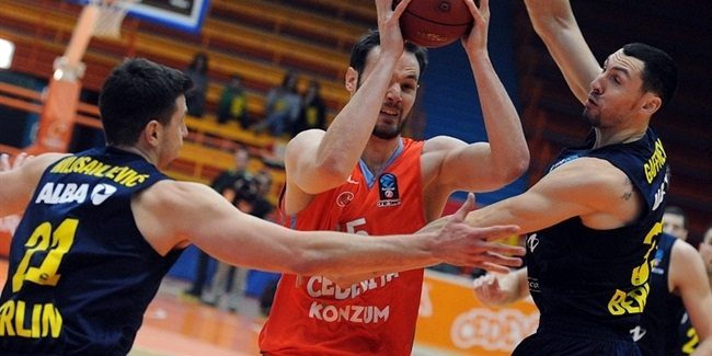 Top 16, Round 4 report: Cedevita marches over ALBA for premier Top 16 win