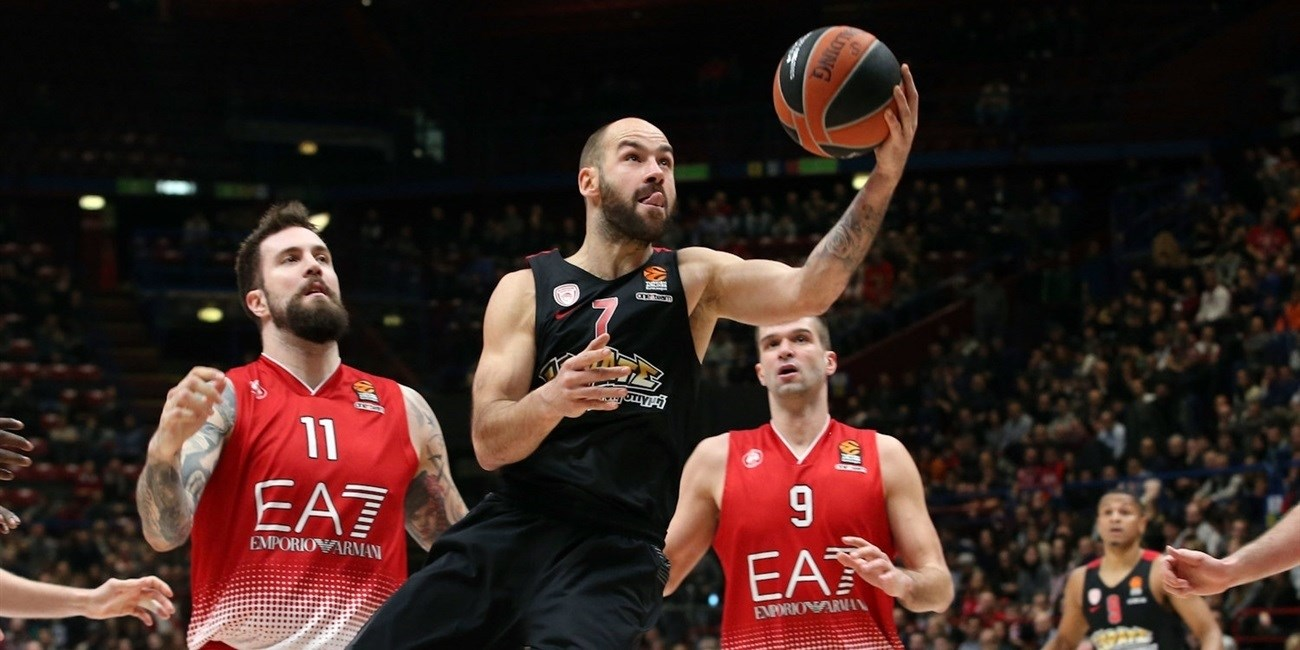 Spanoulis our two weeks for Olympiacos