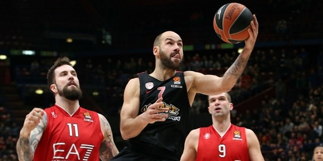 Spanoulis out two weeks for Olympiacos
