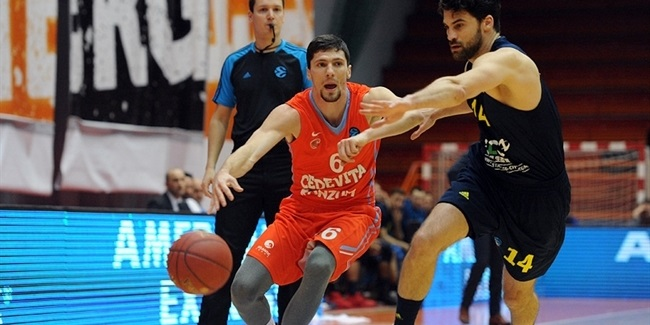 Top 16, Round 4: Cedevita zagreb vs. ALBA Berlin