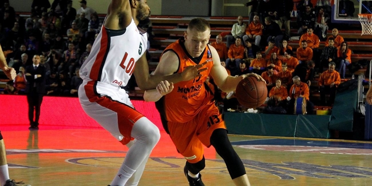 2016-17 7DAYS EuroCup Rising Star Trophy winner: Rolands Smits, Montakit Fuenlabrada
