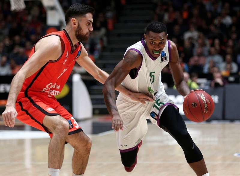 Jamar Smith - Unicaja Malaga - EC16 (photo Valencia Basket - Miguel Angel Polo)
