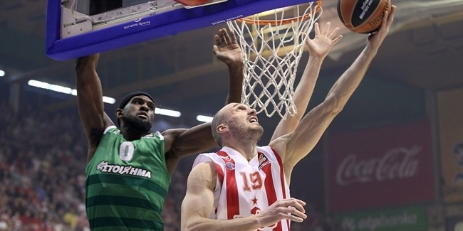 Regular Season, Round 20: Crvena Zvezda mts Belgrade vs. Panathinaikos Athens