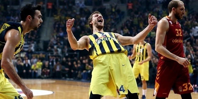 Regular Season Round 20: Fenerbahce drops Galatasaray in derby
