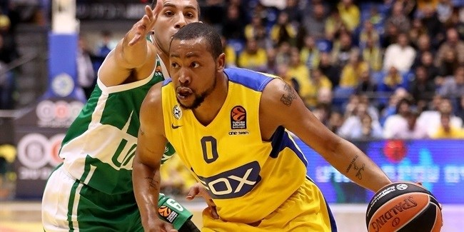 Maccabi loses Goudelock for rest of the season