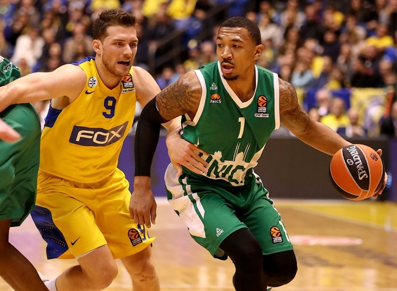Orlando Johnson - Unics Kazan - EB16