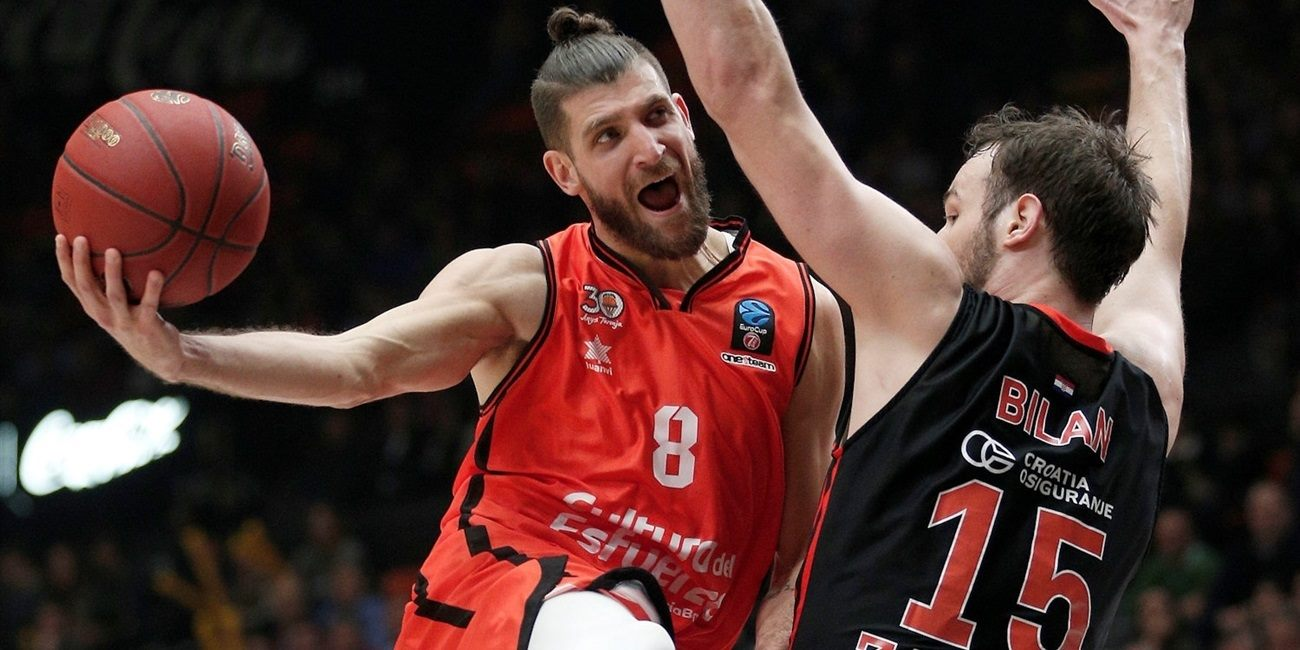 Top 16, Round 5 report: Valencia remains perfect in Group H by beating Cedevita
