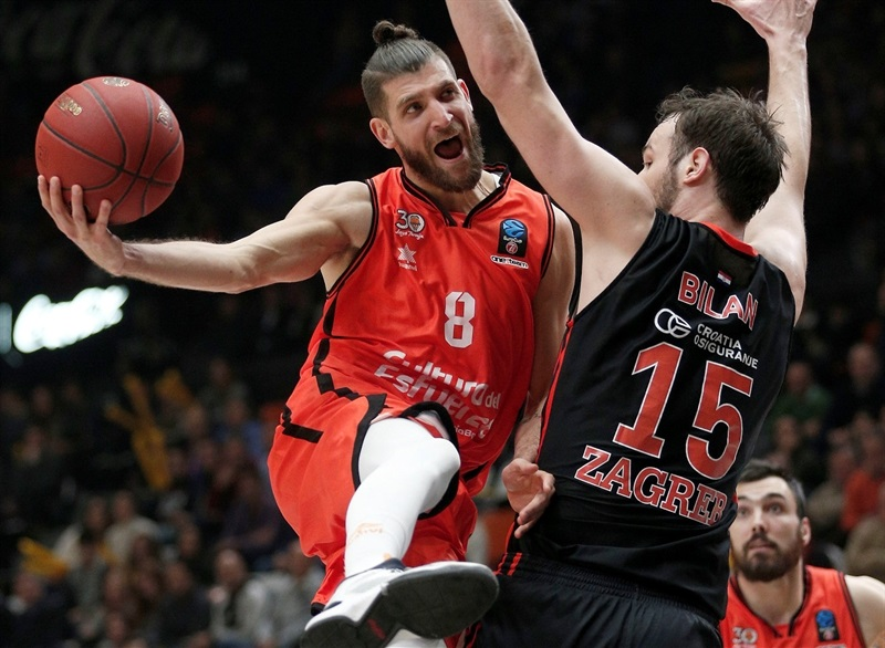 Antoine Diot - Valencia Basket - EC16 (photo Valencia Basket - Miguel Angel Polo)