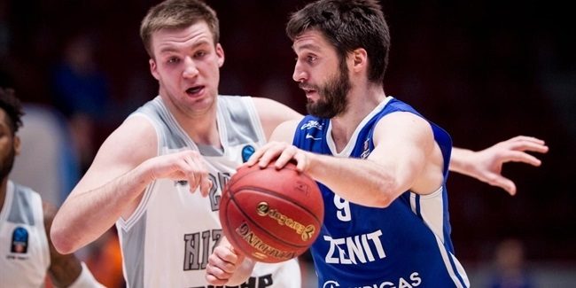 Top 16, Round 5: Zenit St Petersburg vs. Nizhny Novgorod