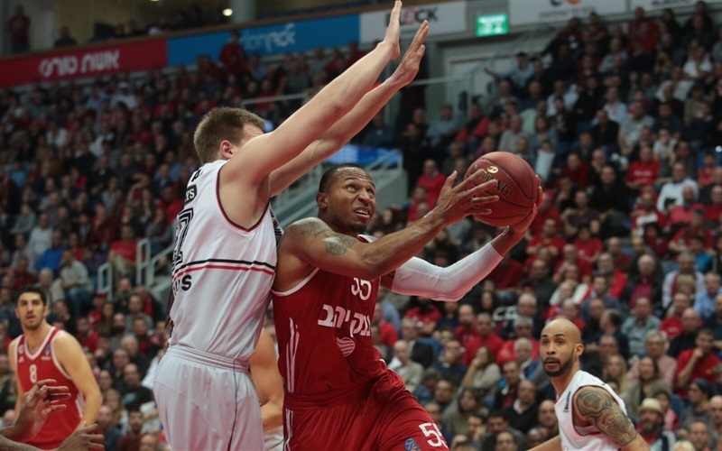 Curtis Jerrells - Hapoel Bank Yahav Jerusalem - EC16 (photo Hapoel Jerusalem)