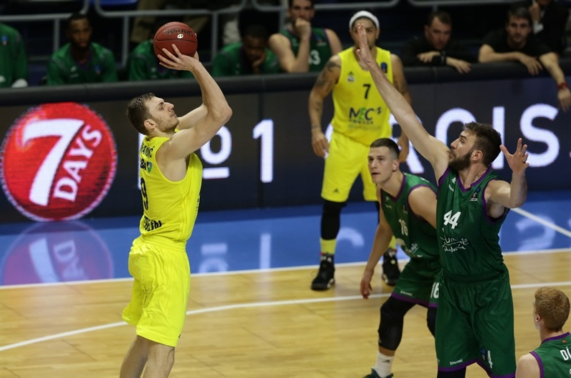 Elmedin Kikanovic - ALBA Berlin - EC16 (photo Unicaja - Mariano Pozo)